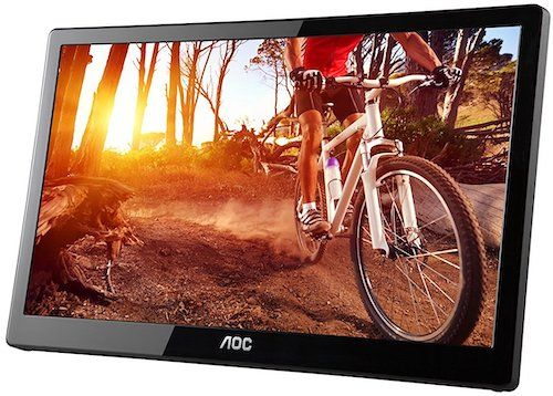 aoc e1659f - best portable monitor under $100
