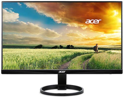 Acer R240HY - best monitor for programmer 2019