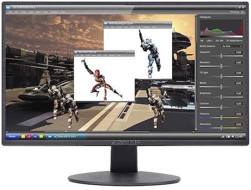 sceptre w205w - best budget monitors 2018 under 100