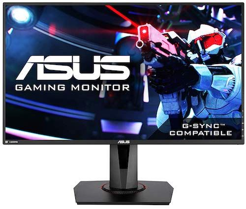 ASUS VG278Q 144Hz Gaming Monitor - best gaming monitor under 300