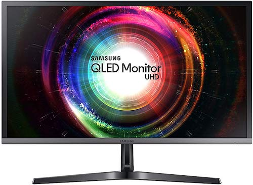Samsung UH750 - best 4k monitor for ps4 pro