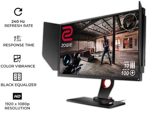BenQ ZOWIE XL2740 - best 240hz monitor reddit