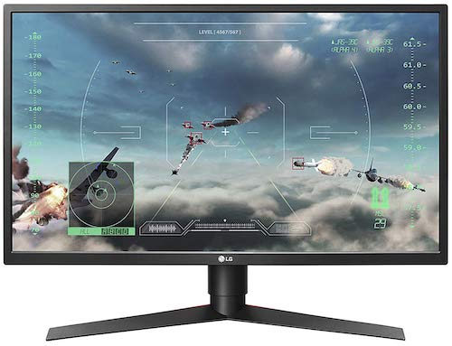 LG 27GK750F-B - best 240hz gaming monitor