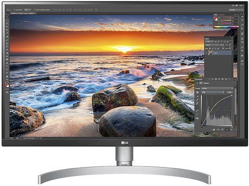 LG 27UK850-W 4K IPS Graphic Designing Monitor