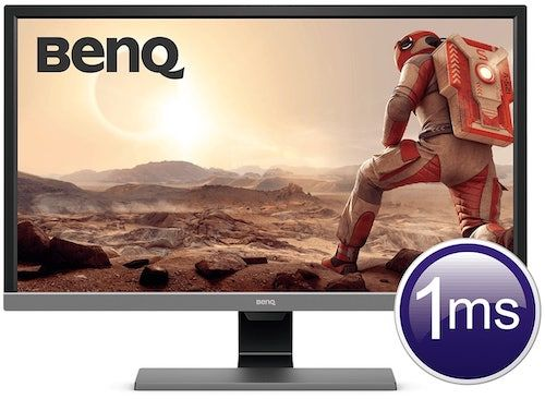 BenQ EL2870U best 4k monitor for ps4 pro