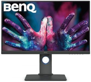 BenQ PD2700U - best color accurate monitor for video editing 2019