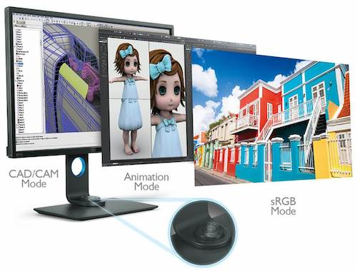 BenQ PD3200U DesignVue - best color accurate monitor for video editing