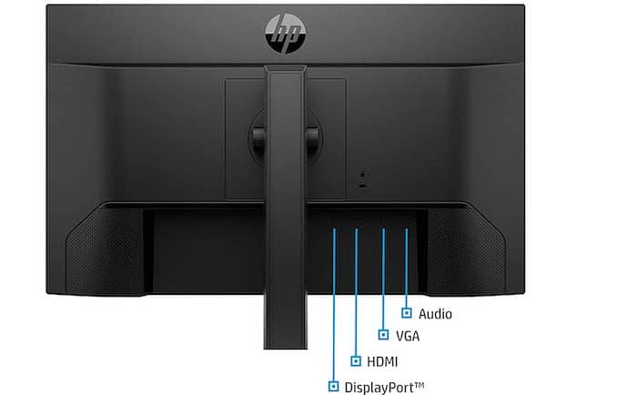 hp 24mh connectivity ports monitor